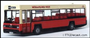 ATLAS EDITIONS 4655 130 - Leyland Lynx - Midland Red West - 209 Brierley Hill *PRE OWNED*